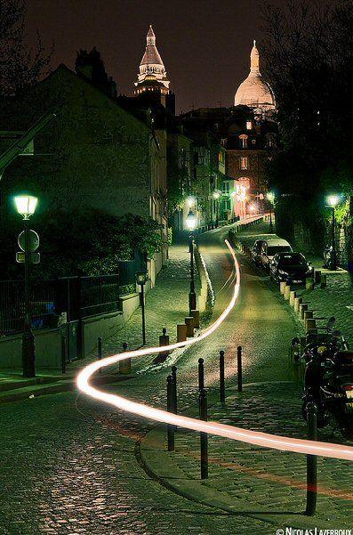 Montmartre - Rue de l'Abreuvoir - Paris 18e