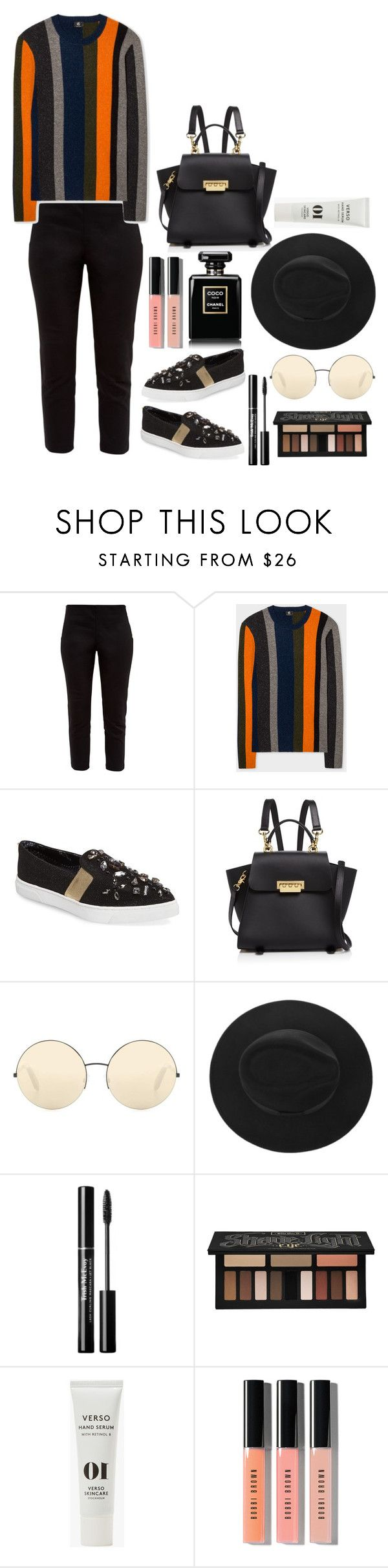 """""""Style- Minimal"""" by cultuerd-stylish ❤ liked on Polyvore featuring Ted Baker, ZAC Zac Posen, Victoria Beckham, Kat Von D, Verso, Bobbi Brown Cosmetics, minimal, trend and styleinsider"""
