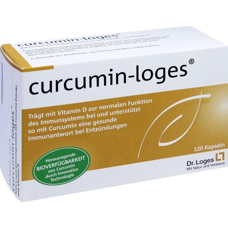 CURCUMIN-Loges Kapseln:   Packungsinhalt: 120 St Kapseln PZN: 10536670 Hersteller: Dr. Loges + Co. GmbH Preis: 29,91 EUR inkl. 7 % MwSt.…