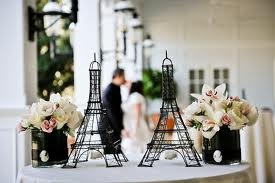 Paris theme weddings