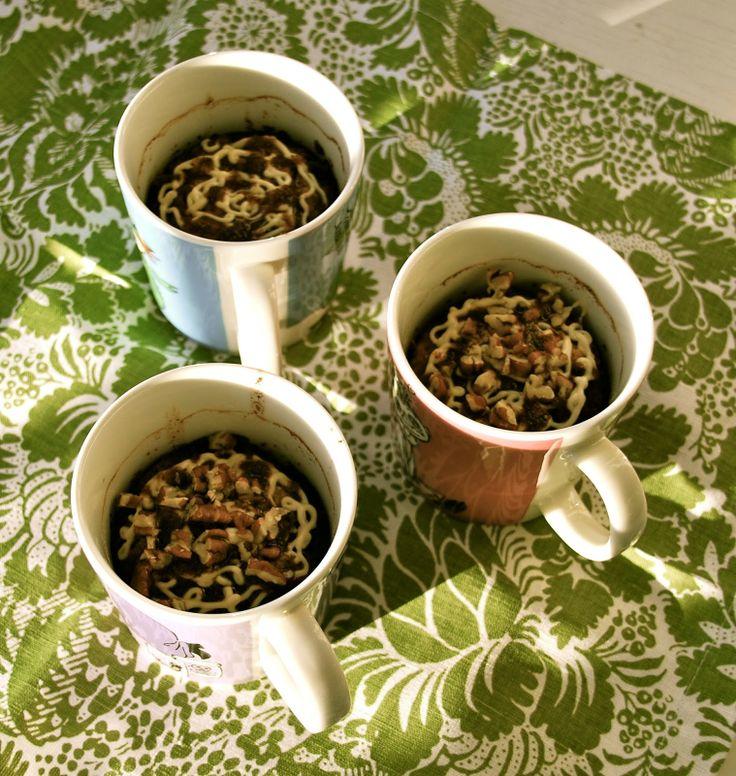 Cinnamon Bun Oatmeal in a Cup. Great recipe from wildaboutporridge.blogspot.com