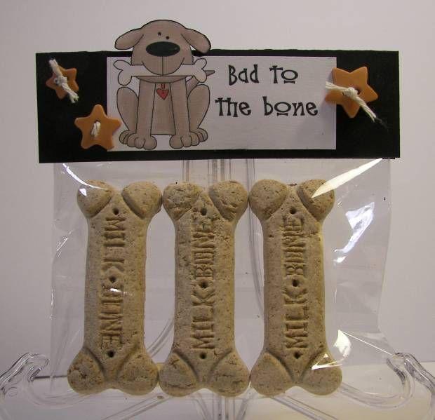 craft fair idea : make homemade dog biscuits