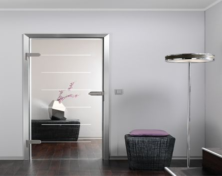 Interior Glass Doors  Beautiful, clean and elegant!