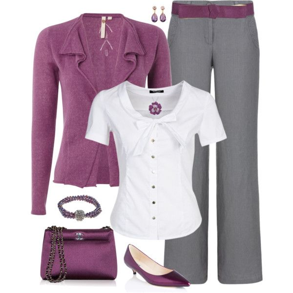 """Plus Size Fall Fashion for Work"" by elise1114 on Polyvore"