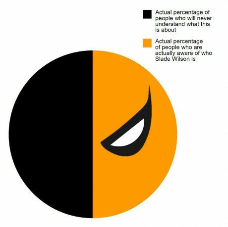 Pie graphs are always relatable and necessary.