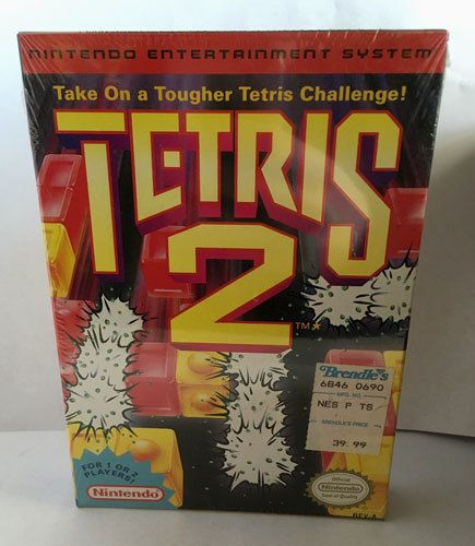 New Tetris 2 - NES Factory Sealed Game