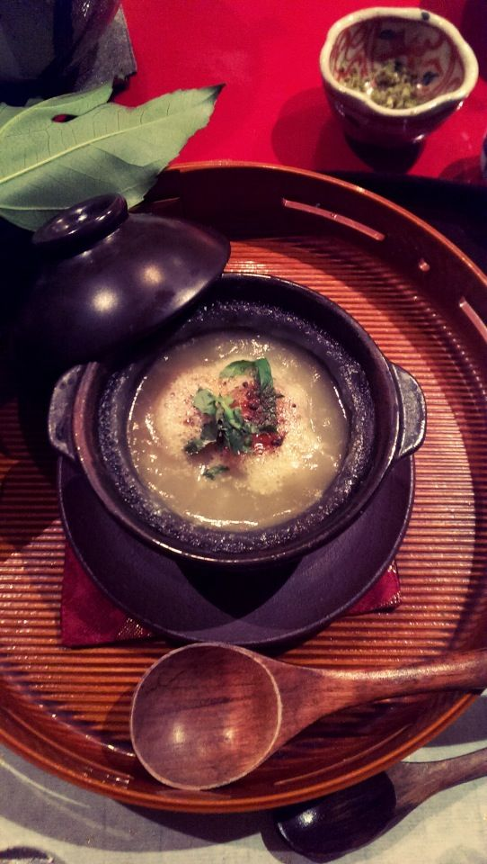 Radish and freshwater eel soup