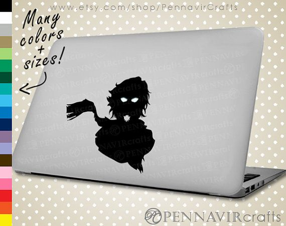 The ORIGINAL Avatar Wan Decal - Avatar the Last Airbender Decal, available in Macbook size! www.PennavirCrafts.com