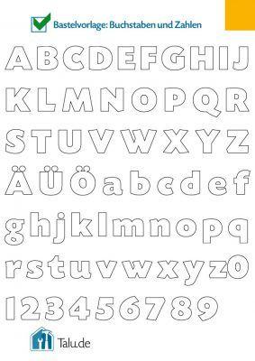Buchstaben Vorlagen Zum Ausmalen Und Ausdrucken Basteln Pinterest