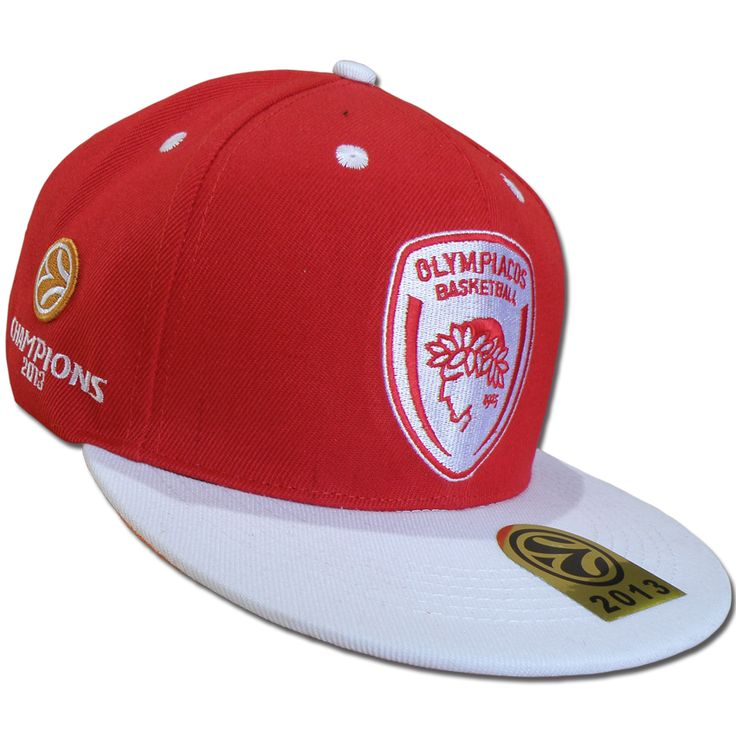The Euroleague Champions 2013 Hip Caps are on the Official Olbc Store