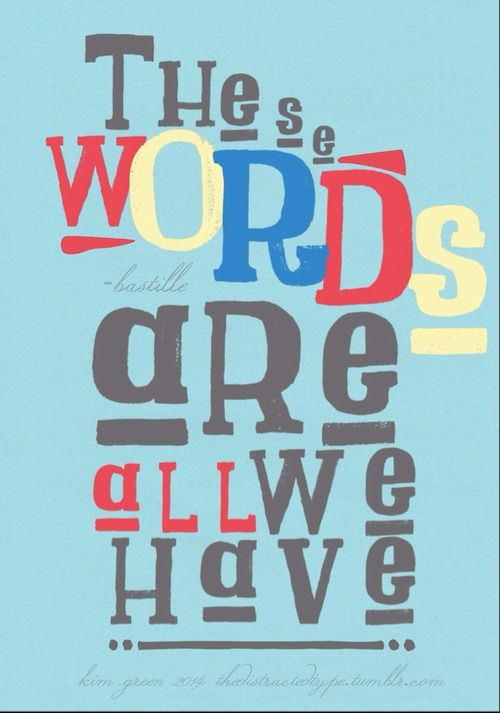 bastille lyrics poster