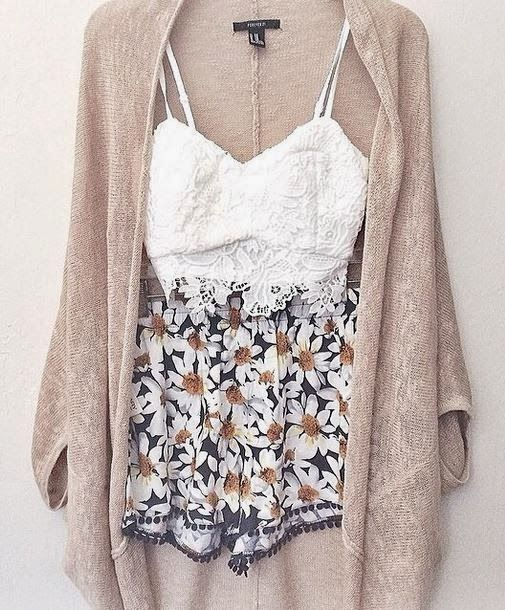 Amazing and Adorable Spring Summer Outfit, Sweater find more women fashion ideas on www.misspool.com