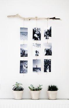 Inspiration für die Fotowand im Schlafzimmer