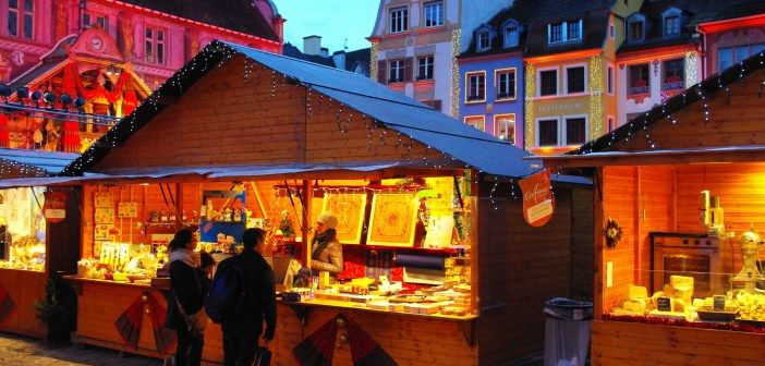 Les Étofféeries: the Christmas Market of Mulhouse in 2014