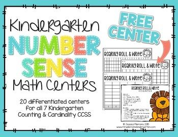 Please enjoy this free kindergarten number sense math center in celebration of my TPT milestone! If you love it check out the full pack described below:These Number Sense Centers are an engaging way to provide meaningful, independent practice. Each of the 20 centers includes a center rotation label, teacher info sheet, I can page with picture cues to help students remember what to do, math talk cards, printable game cards/boards/spinners and response sheets.