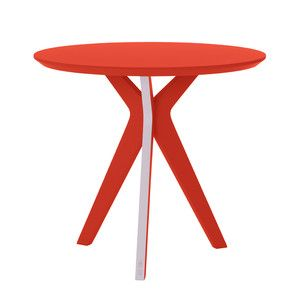 PINKIT Side Table Red Orange, $410, now featured on Fab.