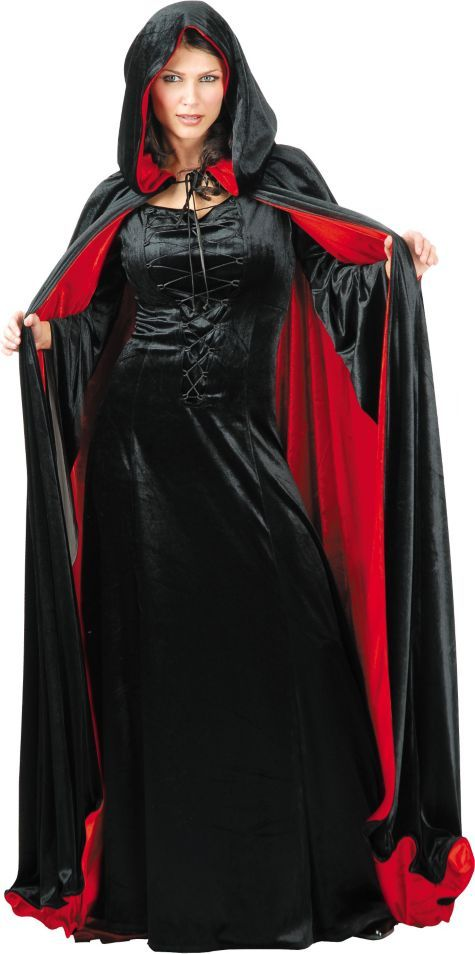 adult luxury reversible cape capes robes shop all categories costume accessories halloween costumes categories party city - Halloween Costumes With A Cape
