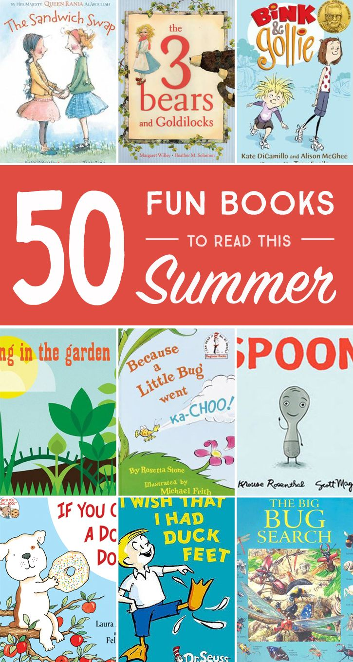 50 Fun Books to Read this Summer