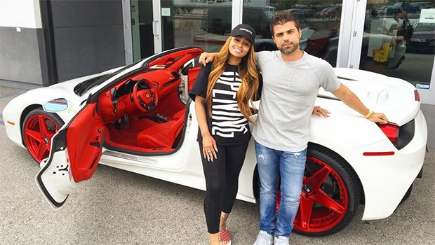 Blac Chyna Shows Off New $300k Custom Ferrari Spider After Rob Kardashian Split https://tmbw.news/blac-chyna-shows-off-new-300k-custom-ferrari-spider-after-rob-kardashian-split  Blac Chyna proved she doesn't need any luxury rides from ex Rob Kardashian, as she's gone out and bought herself a brand new $300k Ferrari Spider. We've got the pics, right here.So what if Rob Kardashian repossessed the luxury purple Lamborghini that he gave his ex Blac Chyna as an engagement present. She's gone out…