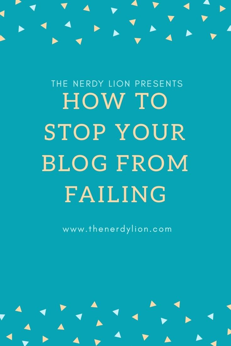 Your blog is going through a lull and if you don't inject some life into it, its going to die. There are a bunch of things wrong with your blog that no one is telling you, so find out how to get rid of those things and get more people to read your blog and stop it from going into complete obscurity. #pintrest #blogfail #success #blogging #subscribe #wordpress