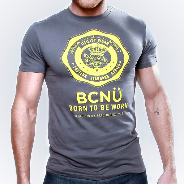 Long Island-TEE Charcoal  This is our signature UtiliTEE featuring the BCNÜ emblem.    Constructed from 100% cotton jersey this UtiliTEE is useful, functional, versatile, sporty and has been designed for everyday use. Dress it up, dress it down, wear it in, wear it out. www.bcnuclothing.com
