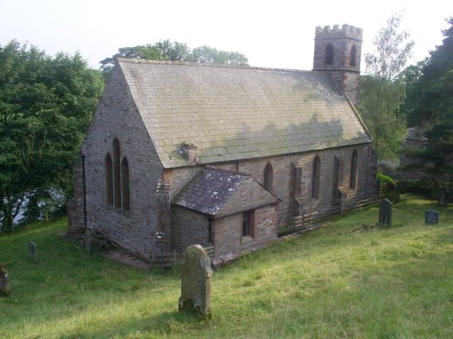 St. Theobald's Church, Great Musgrave - where some of my ancestors worshiped, were christened and married.