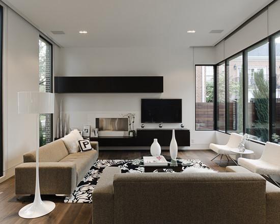170 Modelos De Decoração De Salas De Estar U2013 Fotos. Modern Living Room  DesignsModern ...