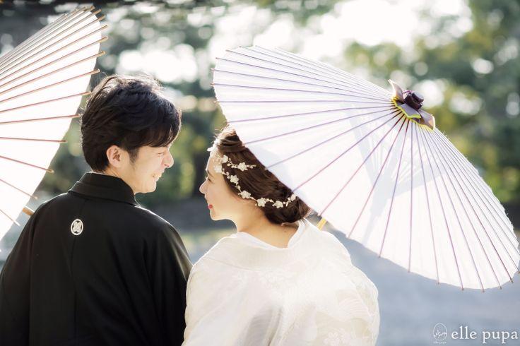 桜さく 祇園と御所での前撮り* の画像|*elle pupa blog*