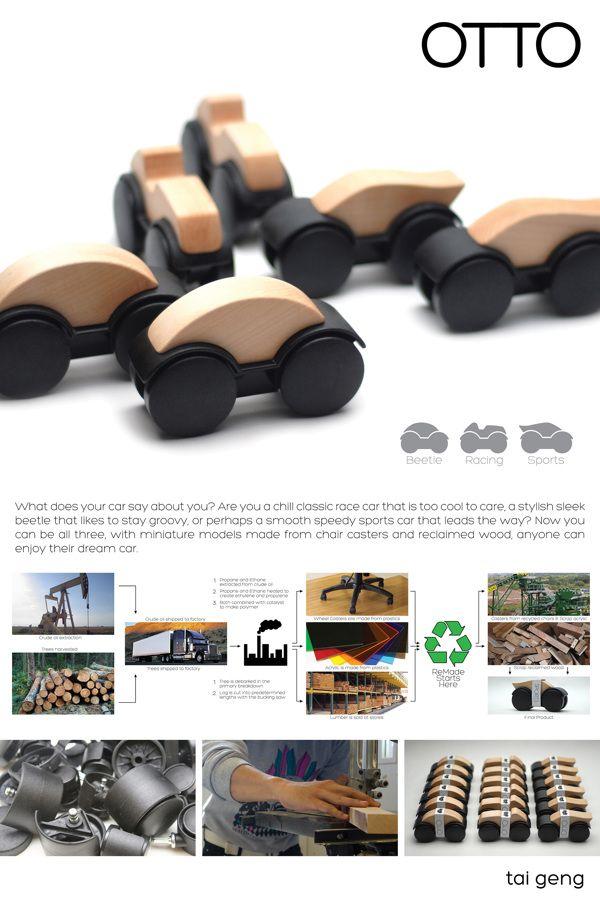 ReMade 2013: TOYS! by Tai Geng, via Behance Mola Mogollón. Por ahora un concept toy.
