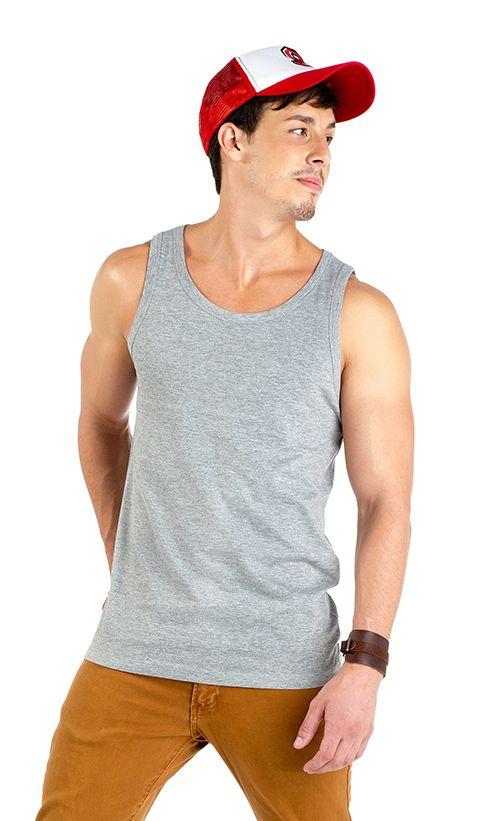 Camiseta Roly Texas color gris vigoré