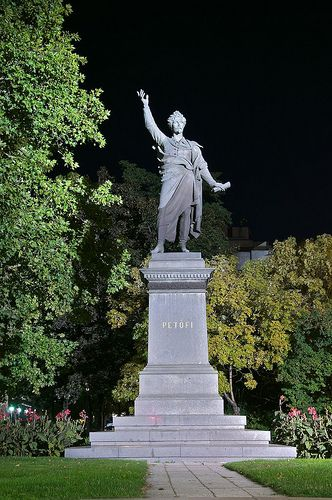 Petofi statue, budapest hungary - Google Search