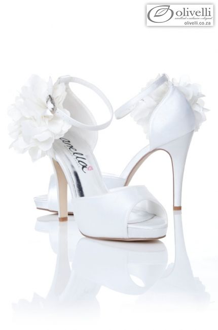 Paige - Bridal Shoes - Anella Wedding Shoes | Olivelli Elegant Wedding & Evening Dress Boutique