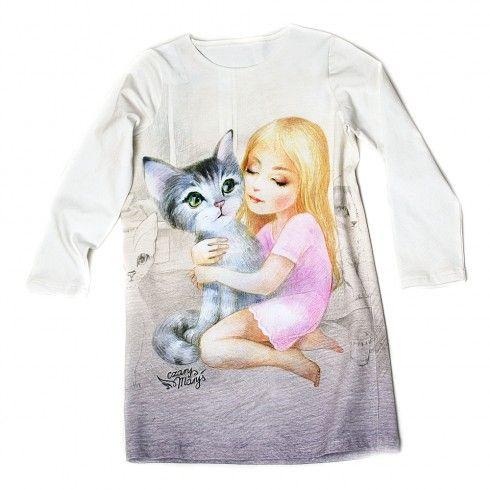 mój KOT - Czary Maryś dress cat