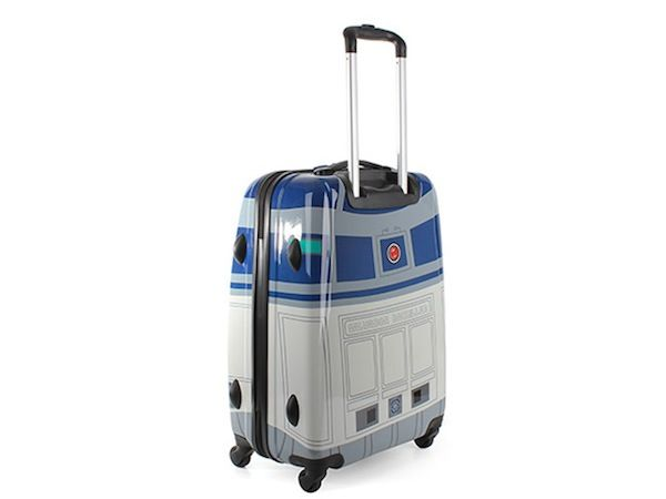 R2D2 suitcase... Too bad it looks like LucasArts (or Disney?) has already heard about it somehow and pulled the plug on it :(