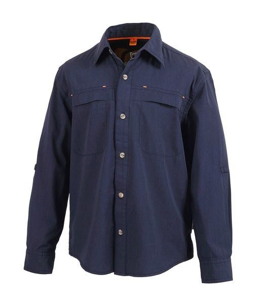 A classic long sleeved shirt for kids. The Boys Bramston top from Gondwana is made of 50% bamboo and 50% cotton making it lightweight, breathable, soft to touch and antibacterial. Good on your child's skin, good for the planet.