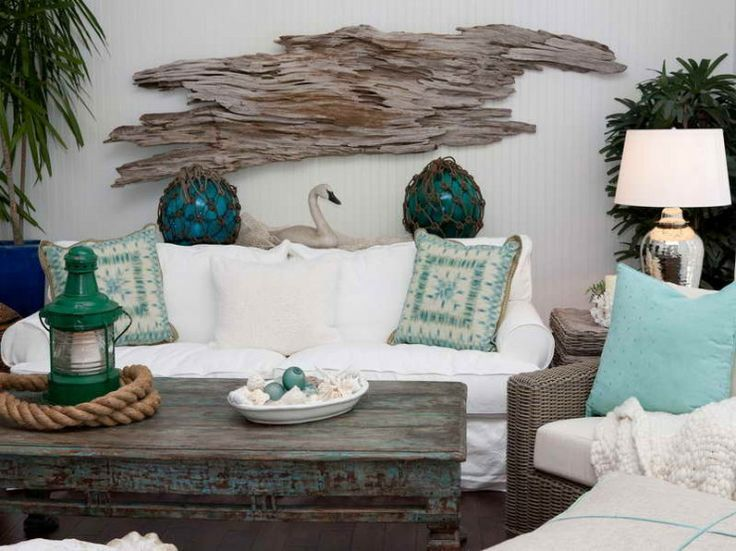 Seashore decorations for home.