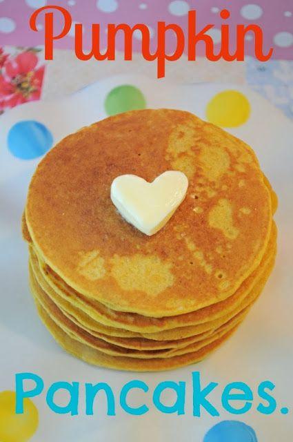 Holiday Sparkle: Super Easy Yummy Fluffy Pumpkin Pancakes!