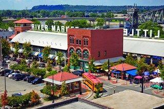 The River Market, Little Rock, AR