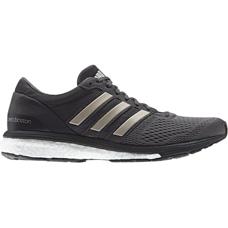 Adidas - Adizero Boston 6 Running Shoe - Women's - Utility Black/Platin Met/