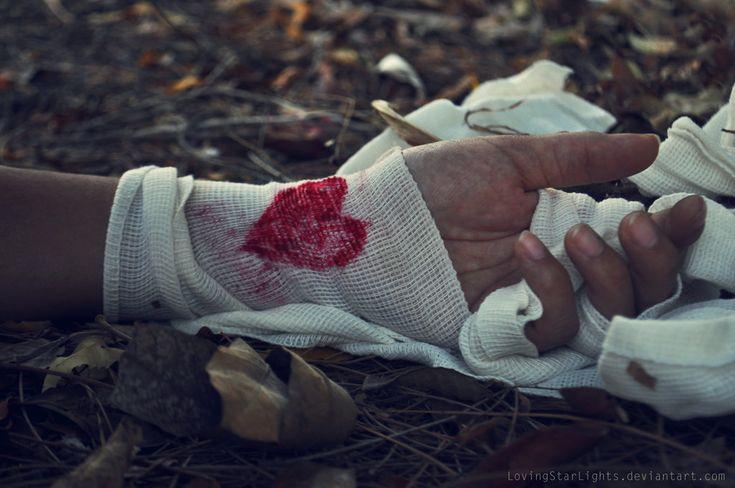 Broken heart by *MintLights on deviantART