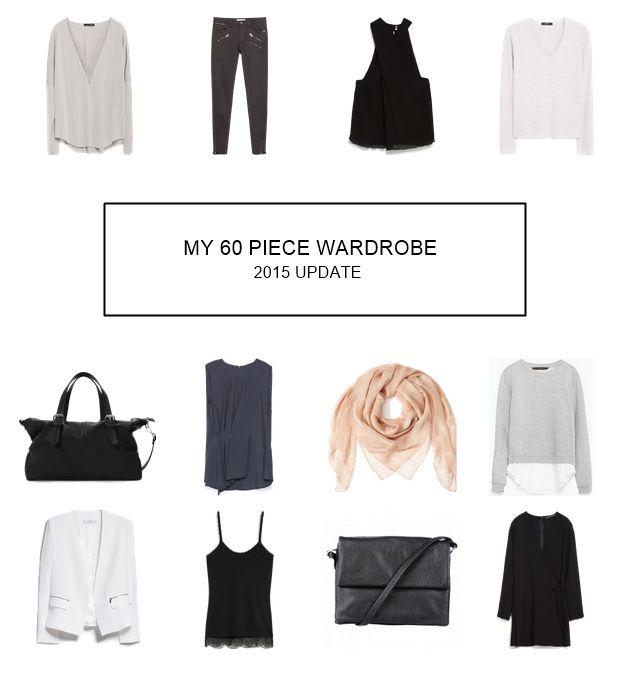 My 60 piece capsule wardrobe (Update) | TOMORROW AT DAWN