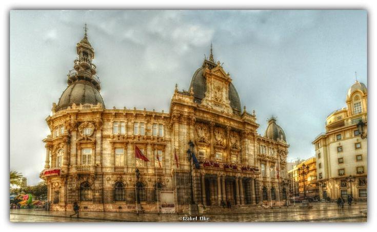 City Hall of Cartagena by Rakel Elke