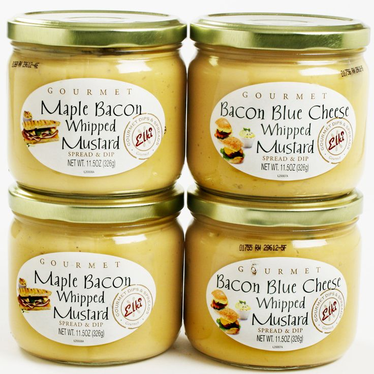 Bacon Whipped Mustard!
