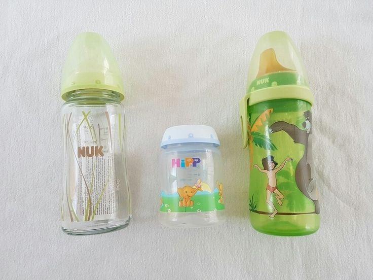Nuk Flaschen Milch und Tee Glas und Plastik Dschungel - Buch