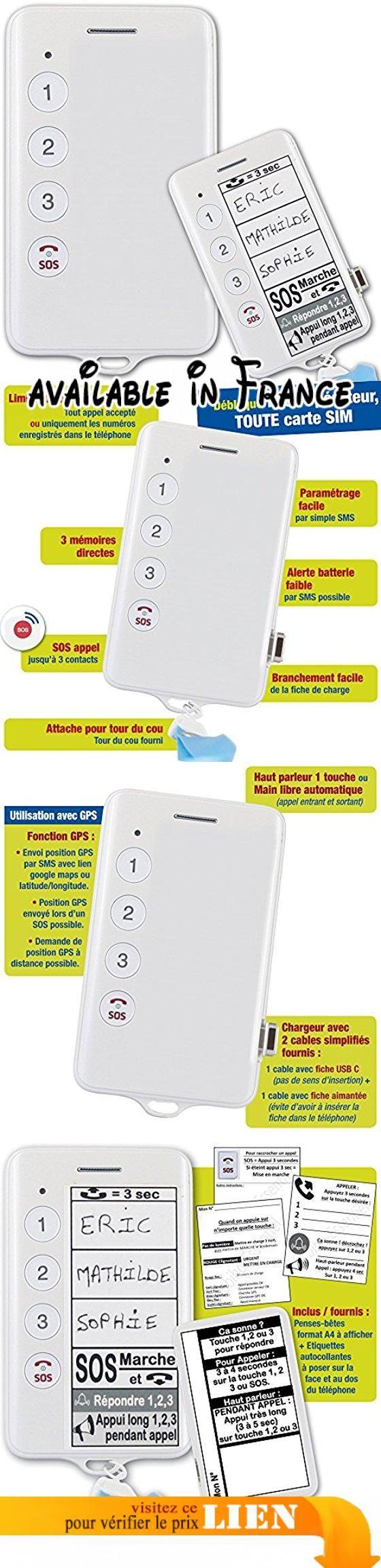 """Mobiho-Essentiel le BASIC INITIAL 2 - pour senior âgé ou handicaps - Ce modèle dispose énormément d'atouts pour une utilisation extrêmement simplifiée et de sécurité : 3 numéro """"famille"""" et/ou 3 numéros SOS. Le SOS permet l'envoi d'un SMS aux 3 contacts + l'envoi de la position GPS + appel du 1er numéro - alerte batterie faible par SMS, haut-parleur automatique activable,... Stickers à coller sur le téléphone et affichettes fournies. - Débloqué tout opérateur"""