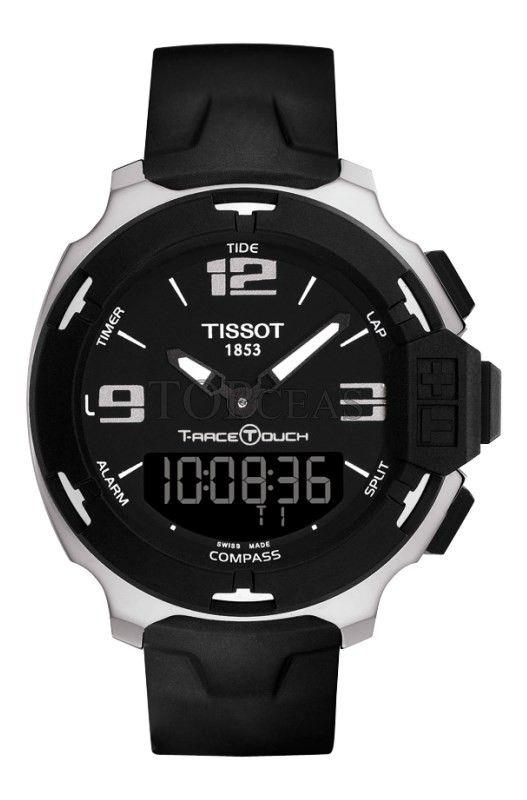 Ceasul Tissot T-Race Touch Steel Black