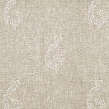 Beech Reverse Large Shalini Linen Fabric - 328L