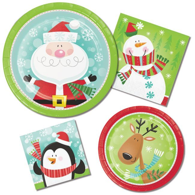 Characters Of Christmas Paper Plates Napkins Click To Save Up To 30 Off Christma Christmas Napkins Christmas Paper Plates Classroom Christmas Decorations