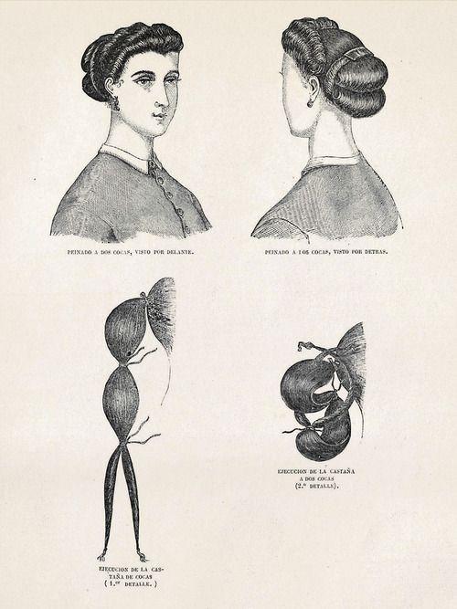 Victorian Hair Tutorial for medium-long hair