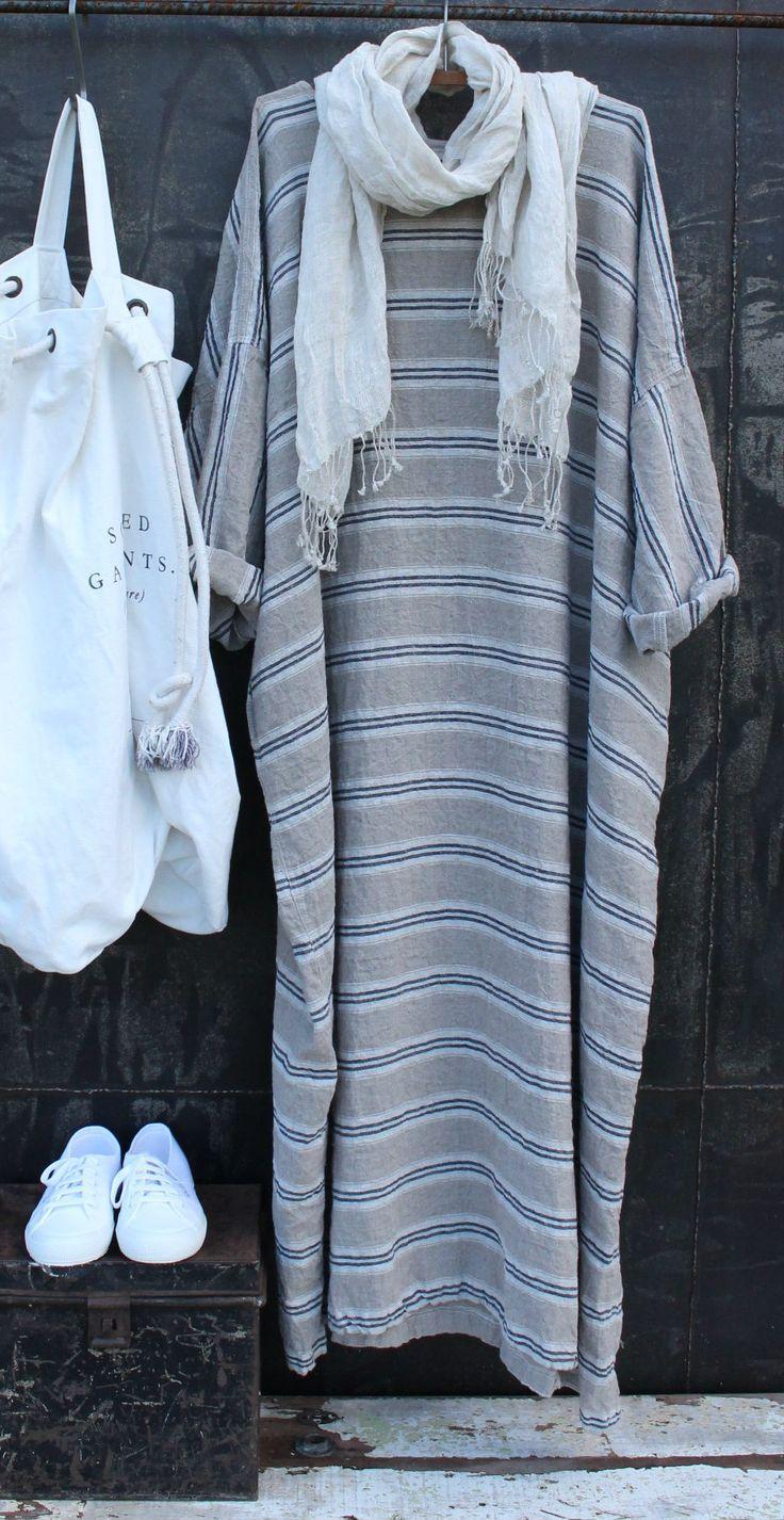 Maxi Linen Dress MegbyDesign                                                                                                                                                                                 More